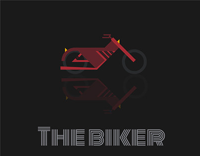 The biker Visual style