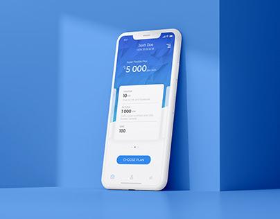 Mobile Telecom App Payment Flow