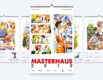 Masterhaus Calendar 2019