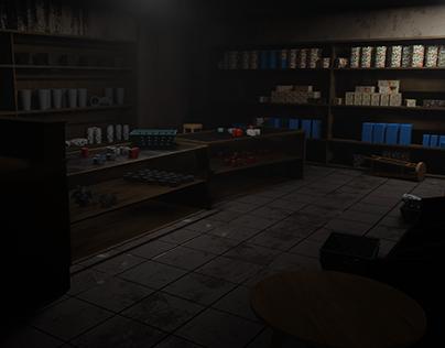 Cenário - A Loja