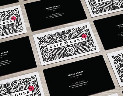 Branding - Cafe La Cosa by Fresh Mind Ideas