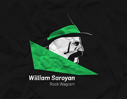 William Saroyan Rock Wagram