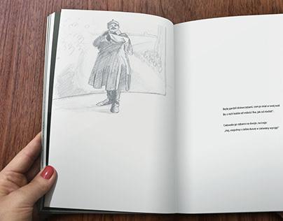 """Ilustracje do wiersza """"Piła"""", 2018"""