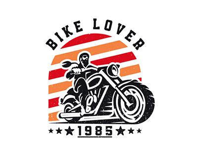 Bike Lover T-Shirt Design