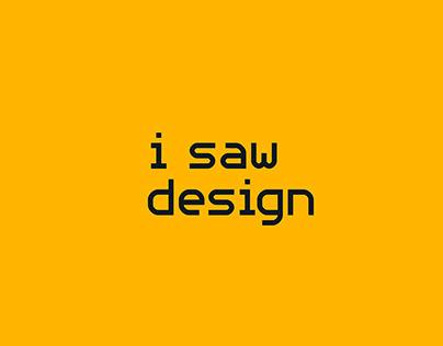 I Saw Design PH | Brand Identity