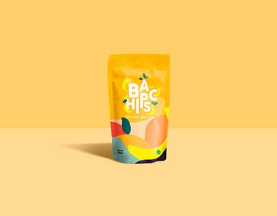 banana chips packging design