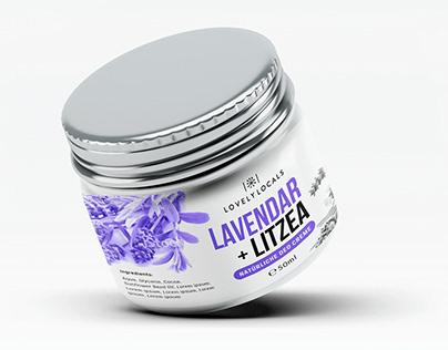 Creme   Lavender jar design