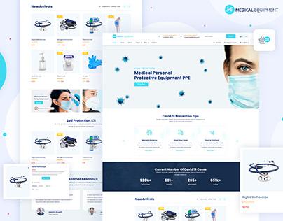 Medical Equipment - eCommerce Theme