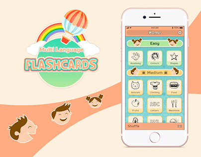 Kids app for learning languages