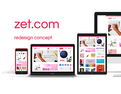 Zet.com Redesign Concept