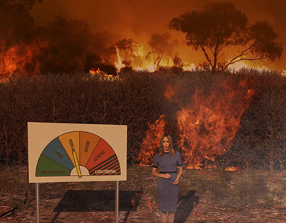9 News Bushfire Danger Levels Infographic