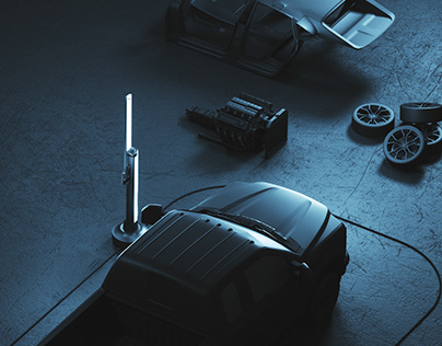 Car Scanner — CGI Product Renders & Packshots