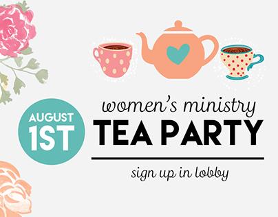 Tea Party Event - Bay Church