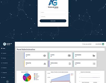 Sistema de ventas AG