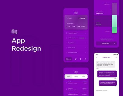 NuBank - App Redesign