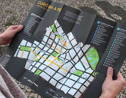 Curitiba On Foot – Map