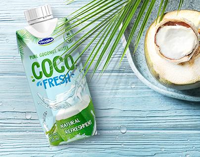 Branding & Packaging Coconut Juice