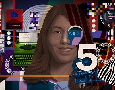 SOFIA COPPOLA 50th ANNIVERSARY.