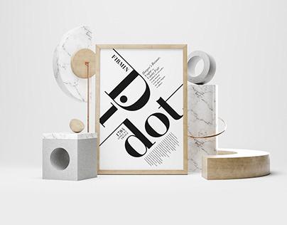 Typographie // Affiche
