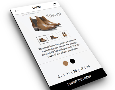 Day 011 | eCommerce item screen