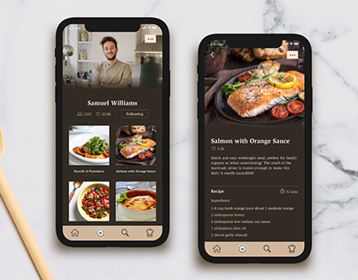 Social Cooking App