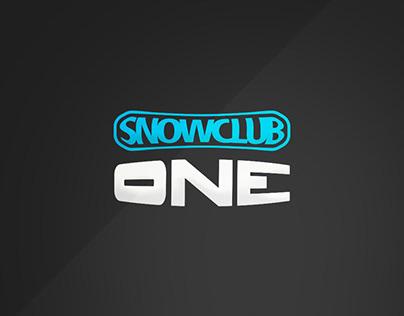 SNOW CLUB ONE _ brand identity