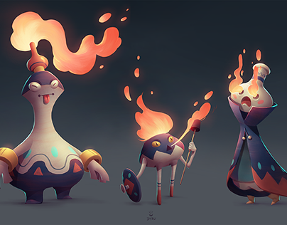 Cursed pots