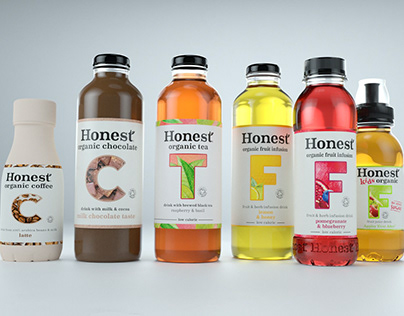 Honest Organic Branding Campaign