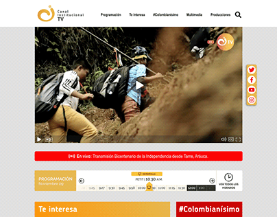 Institutional Channel Web Page Redesign