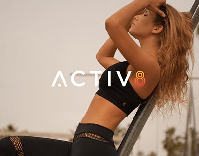 Activ8 - UX/UI & Branding