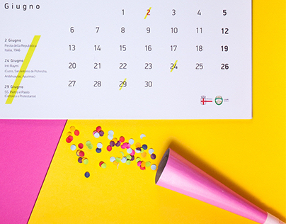Multiethnic calendar /2016