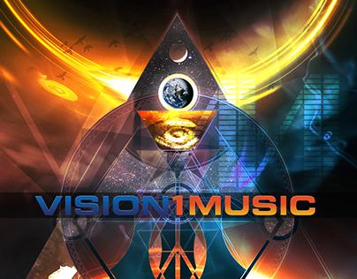 Vision 1 Music Album Cover Artwork