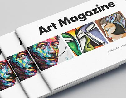 Modern Art Brochure
