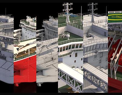 Temis ship 3D model