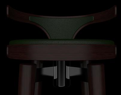 Hajime bar chair.