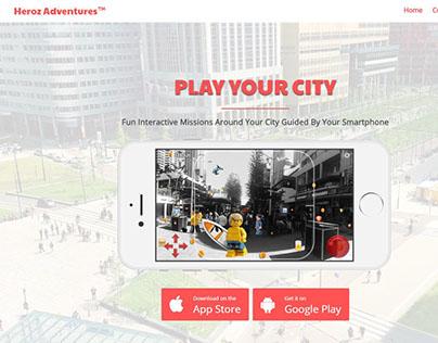 Heroz Adventures - HTML Website
