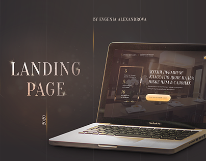 Luxury Kitchen Company | Landing Page Design