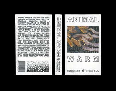 ANIMAL FARM — BOOK COVER