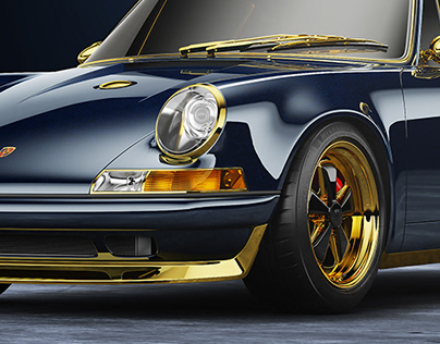 Porsche 911 Reimagined by Singer - Exterior