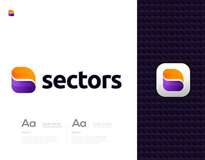 S Abstract Modern Letter Logo Design for Sale
