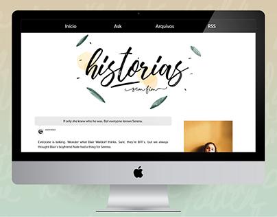 Histórias Sem Fim - Tumblr theme