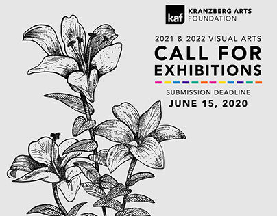 2021-2022 Call For Exhibitions Branding
