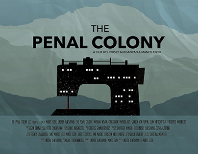 """""""The Penal Colony"""" Movie Poster"""