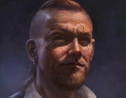 Pirate portrait