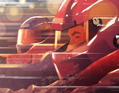 F1 IDENT for AMC
