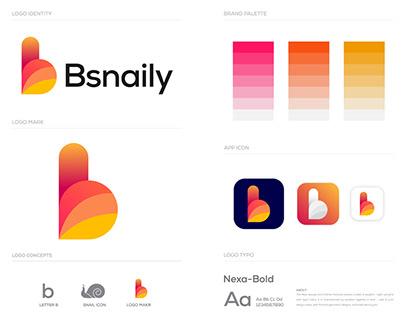 Bsnaily Logo - Brand Identity Design