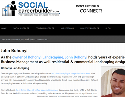 Social Career Builder & Remote - John Bohonyi