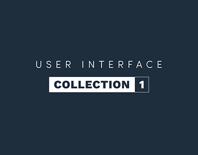 User interface collection 1