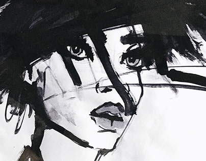 Aquarelle paintings | FASHION ILLUSTRATION | 04.2019