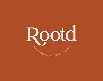 Rootd Brand Identity + Packaging Design